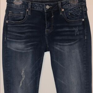 Vigoss distressed jeans the Thompson tomboy style